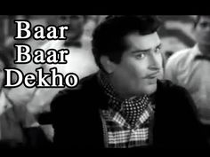 Baar Baar Dekho - Film: China Town - Shammi Kapoor, Shakila, Music by Ravi, Singer: Mohammad Rafi, Directed and Produced by Shakti Samanta Hindi Movie Song, Film Song, Movie Songs, Hindi Movies, Song Notes, Music Notes, Town Song, Baar Baar Dekho, Film China