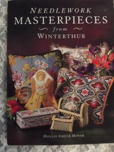 Beautiful Hardback Needlepoint Book Needlework Masterpieces from Winterthur | eBay