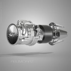 Jet Engine Cutaway  My last Modeling and render max 2011 and V- Ray