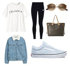 """Untitled #4"" by amjones17 on Polyvore featuring adidas Originals, Vans and Louis Vuitton #schooloutfits"