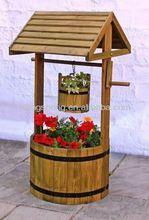 legno giardino decorativi che desiderano pozzi