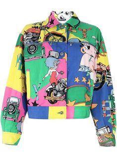90s retro jackets - Cartoon ch4racters- Betty Boop