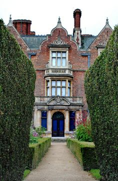 ARCHITECTURE – another great example of beautiful design. Sandringham House - Norfolk, England