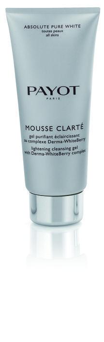Mousse Clarté von PAYOT Das Ziel von Mousse Clarté ist es, Pigmentflecke zu korrigieren, die Haut optimal zu reinigen und Unregelmäßigkeiten der Hautpigmentierung vorzubeugen. http://www.best-kosmetik.de/marken/payot/reinigung-peeling/mousse-clart.html