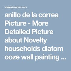 anillo de la correa Picture - More Detailed Picture about Novelty households diatom ooze wall painting tool patterned roller for wall decoration 7 inch with handle Picture in from Diy home decor painting and improvement. Aliexpress.com   Alibaba Group