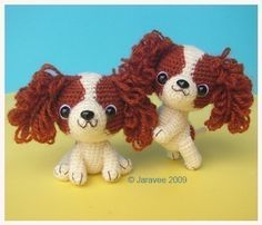 King Charles Cavalier Spaniel Puppy PDF Crochet by jaravee