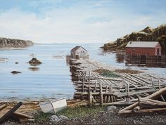 Newfoundland Art - Norman Bursey Gallery