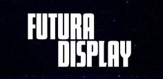 Fonts - Futura Display by URW++ - HypeForType Font Shop