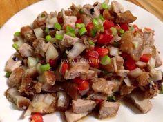 CASA BALUARTE RECIPES: Crispy Sisig Recipe