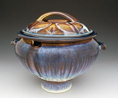 Bill Campbell Pottery for Sale | Bill Campbell Serving Pieces – Northern Lights Pottery and Stoneware ...