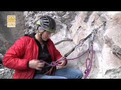 Anchor cleaning for sport climbing - YouTube