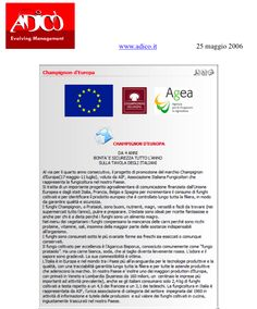 """""""Adico.it"""" Maggio 2006"""