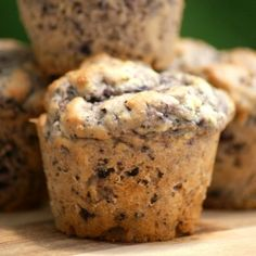 Blueberry Muffins (Bakery Style, Healthy