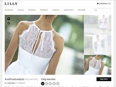 Konfirmation kjole Wedding Dresses, Fashion, Bridal Gowns, La Mode, Weding Dresses, Bridal Gown, Wedding Gowns, Fashion Illustrations, Fashion Models