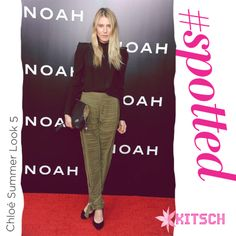 #Kitsch #Spotted Bree Hemingway in Chloé Summer Look 5 at the Film premiere of Noah. http://www.kitsch.in/