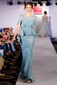 peplum dress by Innai Red #wedding