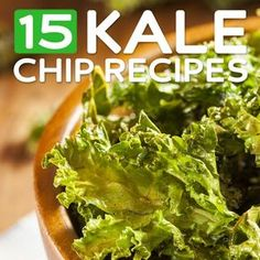 Kale Chips - UPDATE: I just made the salt and vinegar chips. So good! And they were really easy! However, the recipe says 15 minutes, but mine were browning at 13. They probably could have come out even sooner. Keep an eye on them in the oven. But definitely very good!