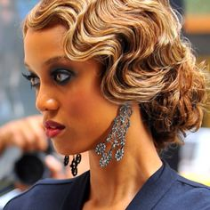 Finger waves and pin curls!!