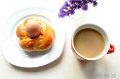 Essbare Eierbecher | Hefeteig der selbst Anfängern gelingt