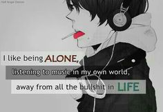 It's all I have sometimes