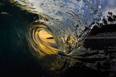 Sean Brown - Laguna Beach yellow tube