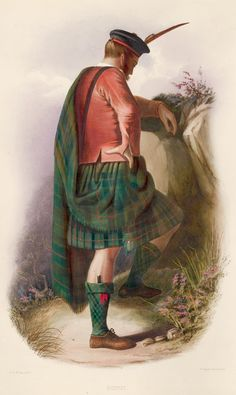 Gunn. The Clans of the Scottish Highlands | R. R. McIan