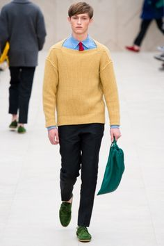 Burberry Prorsum - Men Fashion Spring Summer 2014 - Shows - Vogue.it