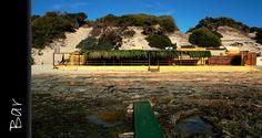 Lovely restaurant Sa Trinxa at our favorite beach on Ibiza: Salinas