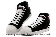 first rate a9932 807ed Adidas NEO Scarpe High Tops Uomo Donna Nere Bianche Brillante Rosse (Adidas  italia)