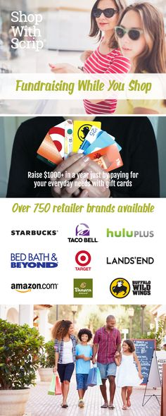 How about using gift cards to purchase your everyday items