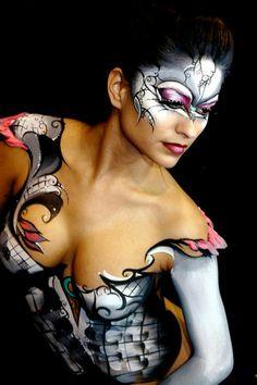 Amazing body artwork http://www.bigboobsdirect.com