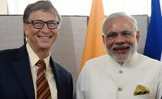 #BillGates is already known for his work on the 'World's Sanitation Challenge' and now he lauds Indian #PrimeMinisterNarendraModi for #SwachhBharat initiative. He not only praised #PMModi for having an open discussion over such a sensitive and unavoidable issue, he took to his blog to put forth an elaborte note on the same topic. Click here to read more: http://www.mensxp.com/special-features/today/36489-pm-modi-his-swachh-bharat-abhiyan-have-found-a-new-fan-in-bill-gates.html