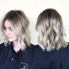Deep rooted blonde @habitsalon