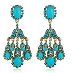 Turquoise Jewelry   HAUTEheadquarters   Designer Jewelry and Accessories, A Kenneth Jay ...