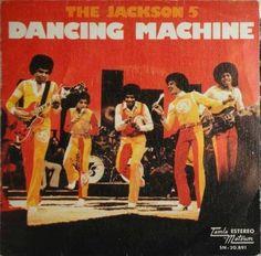 Dancing Machine - The Jackson 5 (Album: Dancing Machine / Michael Jackson, The Jackson Five, Number One Song, Number One Hits, Vinyl Music, Vinyl Records, Machine Songs, The Jacksons, Humor Grafico