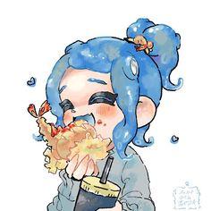 Splatoon Squid, Splatoon Memes, Splatoon 2 Art, Splatoon Comics, Avatar Cartoon, Animal Crossing Villagers, Fanart, Art Poses, Cosplay