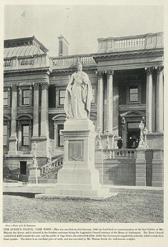 The Queen's Statue, Cape Town | South Africa by The National Archives UK