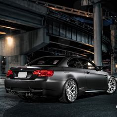 Hot Matte Black BMW