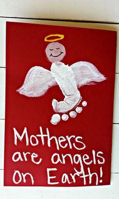 Angelic Mothers Day Messages Card