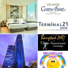 Grande Centre Point Sukhumvit at BTS Asok Bangkok Hotel, Centre, Tourism, Hotels, Bts, Travel, Turismo