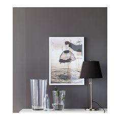 NYTTJA Cadre - blanc - IKEA pour Poster Polabox