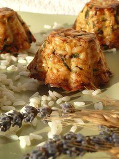 Tortini di riso e zucchine ricetta facile