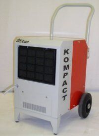 Ebac Kompact 56 Pint Commercial Dehumidifier Industrial dehumidifier for restoration professionals.. Mobile - rugged wheels and built-in condensate pump.. 360 CFM air flow and removes up to 15 gallons of water per day at saturation..  #Ebac #Home