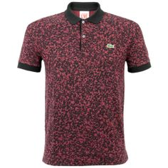 Lacoste Live Ultraslim Fit Printed Pinot Polo Shirt PH3625 YYW Fancy Shoes, Man Fashion, Polo Shirts, Winter Collection, Lacoste, Printed Cotton, Swag, Polo Ralph Lauren, Short Sleeves
