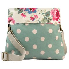 Clarendon Rose Mini Reversible Messenger Bag | View All | CathKidston