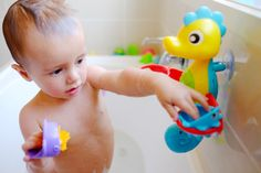 Playgro Brand Rep Madden & his Flowing Bath Tap & Cups!