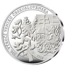 100. výročí vzniku ČSR - pamětní medaile zdarma Personalized Items