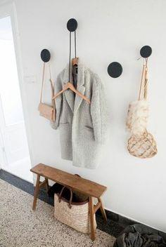 vestiaire d'entrée, comment bien organiser l'espace dans votre entrée