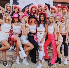 Rounding up the PHInest since PC 19 welcome to the Phi House. it's OuT oF tHiS wOrLd✨💫 Saddle up because we can't wait for all to… Cowgirl Halloween Costume, Cute Group Halloween Costumes, Trendy Halloween, Costumes For Teens, Group Costumes, Halloween Outfits, Bratz Doll Halloween Costume, Woman Costumes, Couple Costumes