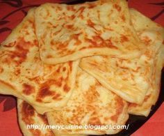 cuisine gourmande marocaine et d'ailleurs: Msemen -- Recette traditionnelle des galettes marocaines